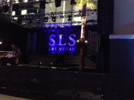 SLS Las Vegas Open: Flashy Friendly Fun