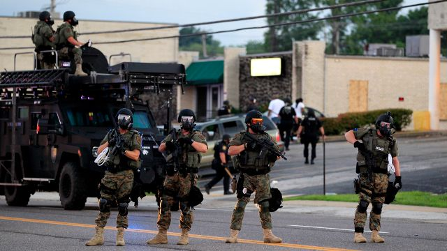 In Ferguson, Group of People Have Brought Lawsuit Against Local Law Enforcement