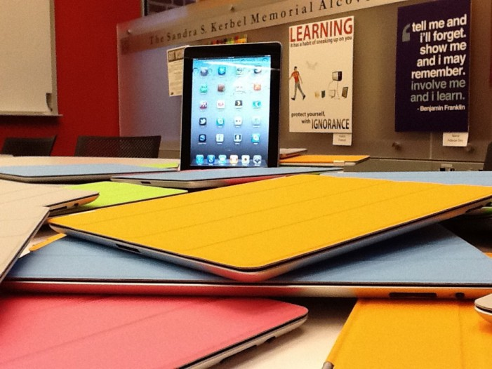 Tablet Computers Offer Flexible Learning Opportunities