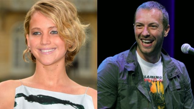 Is Jennifer Lawrence Dating Coldplay's Chris Martin?