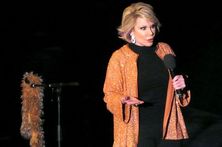 Joan Rivers Allegedly Dependent on Life Support to Keep her Alive