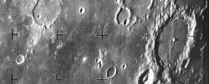 Moon: 50 Years Ago the First Spacecraft Photo Was Taken
