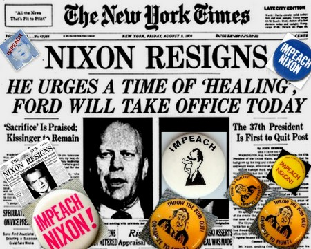 Nixon Resignation 40 Years Ago Today August 8 1974