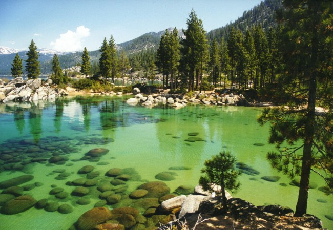 Wildfires Threaten Lake Tahoe