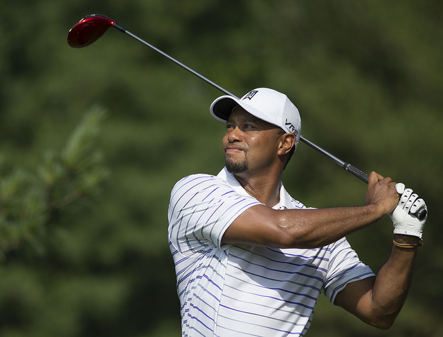 PGA Championship: Tiger Woods Back a Nonissue in Poor First Round Finish