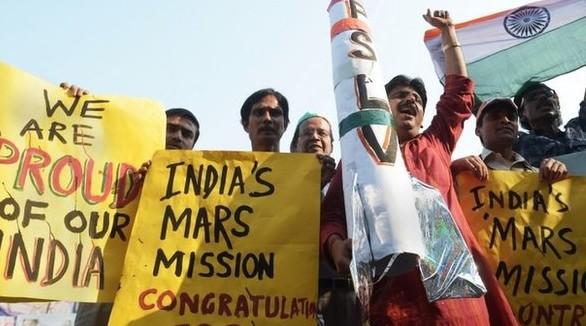 India Spacecraft Reaches Mars Orbit