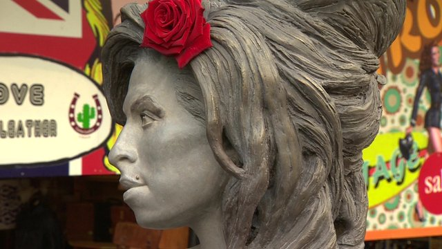 Amy Winehouse Statue Revealed on Late Singers Birthday in London