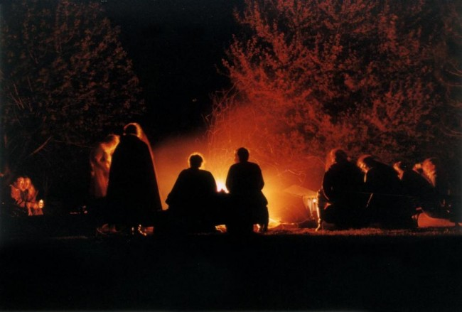Ancient Social Media-Campfire Stories and the Evolution of