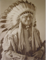 American Indian headdress