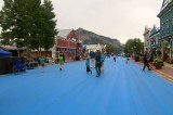 Crested Butte Colorado Still Blue Over Budweiser Main Street Paint Job