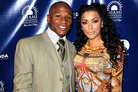 Floyd Mayweather Sued by Ex for Fighting Outside the Ring [Video]