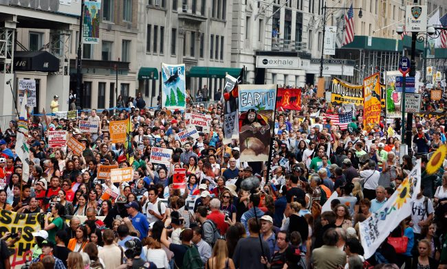 Half a Million People March in Cities Around the World to Combat Climate Change