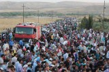 ISIS Forces 100,000 Syrian Refugees to Turkey