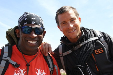 'Running Wild With Bear Grylls': Deion Sanders Tested to His Limits [Video]