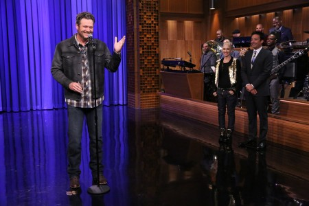 Jimmy Fallon Lip Synch Battles With Blake and Gwen [Video]