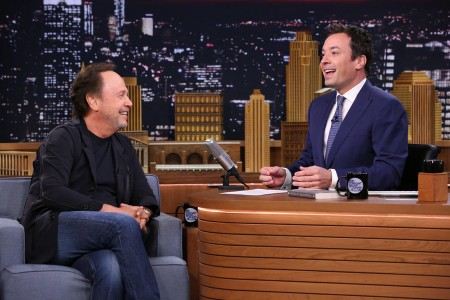 Jimmy Fallon 'Flips Lips' With Billy Crystal