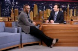 Jimmy Fallon and Tyler Perry Race Jumping Drones [Video]