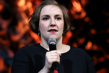 Lena Dunham as Essayist on Tour: Preferably Clothed