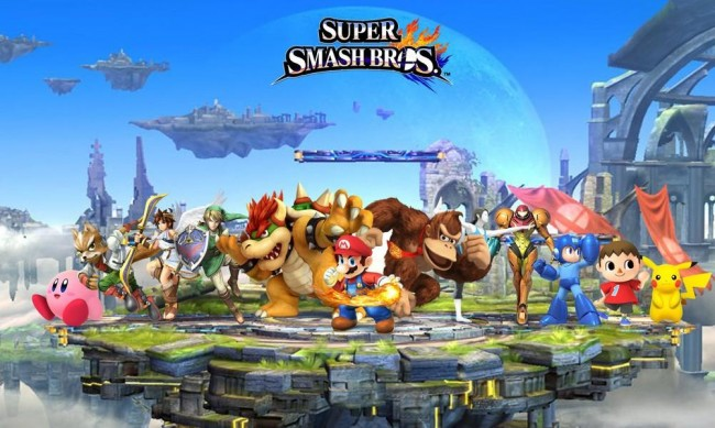 Super Smash Bros 3DS demo on eShop 9-19