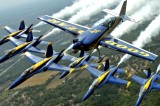 Blue Angels High Flying Military Pride Show This Weekend