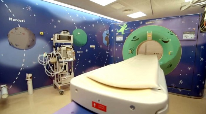 Barcelona Hospital Makes MRI a Space Age Adventure for Kids [Video]