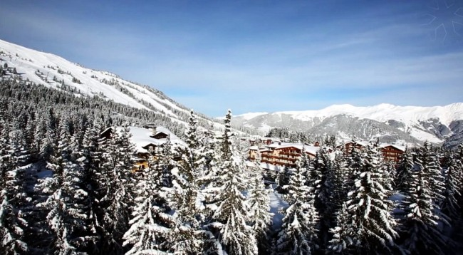 Luxury ski break