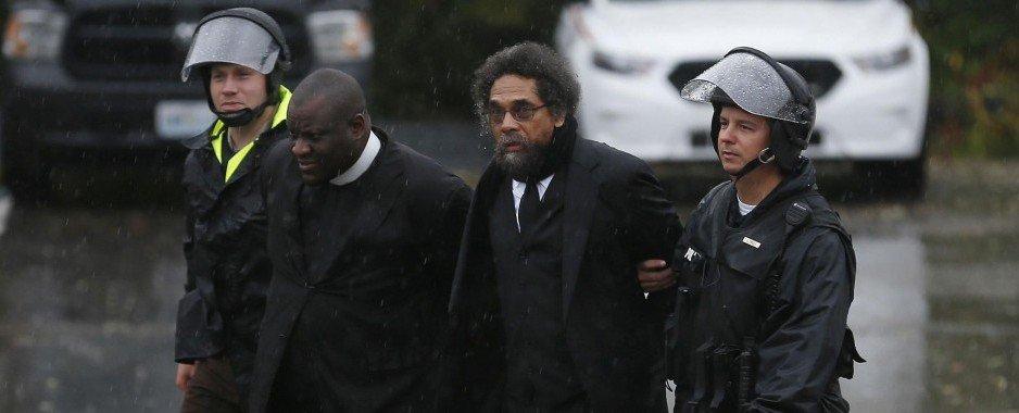 Activist Cornel West Arrested During Ferguson Protest [Video]