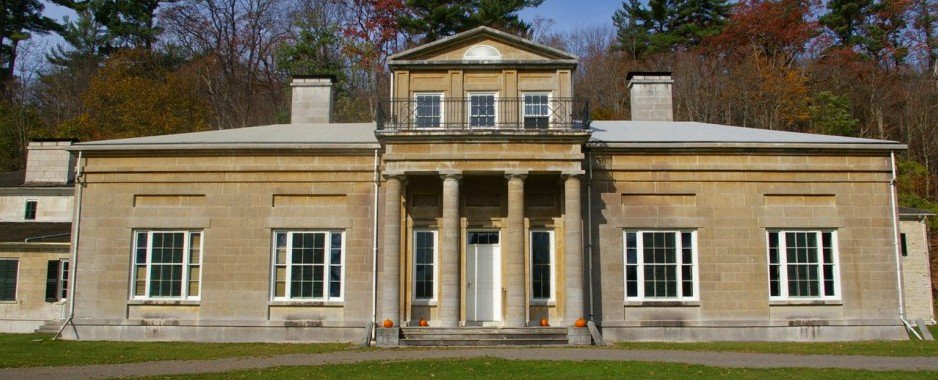 Hyde Hall by Halloween Candlelight Illuminates Family Ghosts