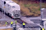 Amtrak Train Hits Truck in Indiana