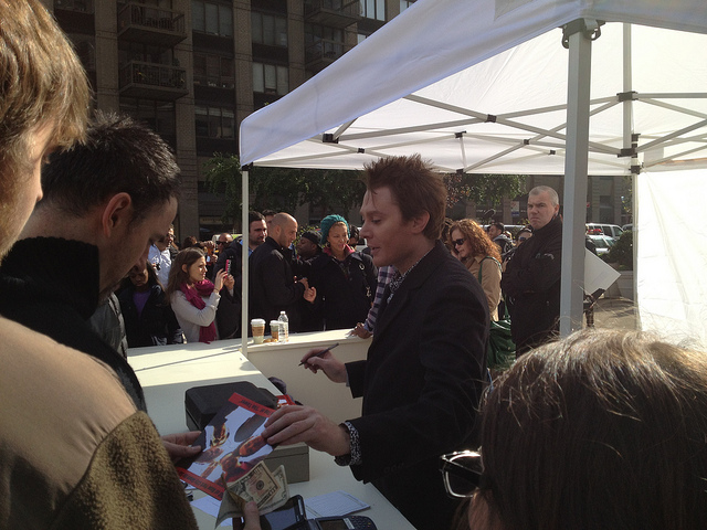 Clay Aiken an Idol to the People