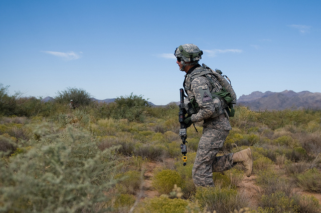 Soldiers Help Fears With Virtual Reality