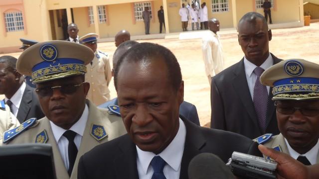 Burkina Faso President Blaise Compaoré