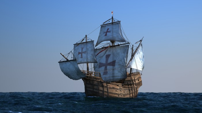 Christopher Columbus: Haiti Wreckage Not 'Santa Maria?'
