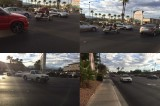Four-Car Pileup at Ranch and Lake Mead Halts Traffic on Rainbow Las Vegas