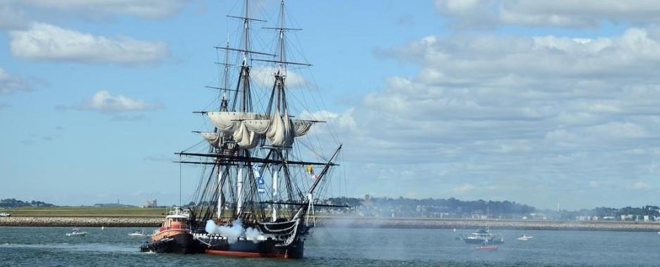 USS Constitution Has One Last Cruise Before Undergoing Restoration