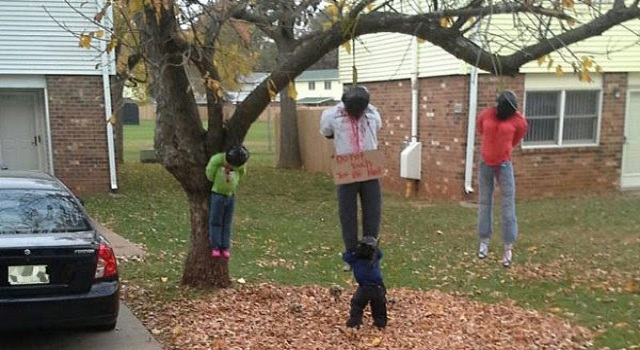 Halloween Lynching Display Ordered Removed From Army Base