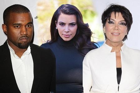 Kris Jenner Upsets Kim and Kanye Family Outing
