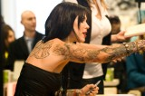 Kat Von D's Tattoo Shop Catches Fire, She Unleashes on Photogs [Video]