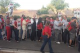 Las Vegas Protest March Begins Over Union Question