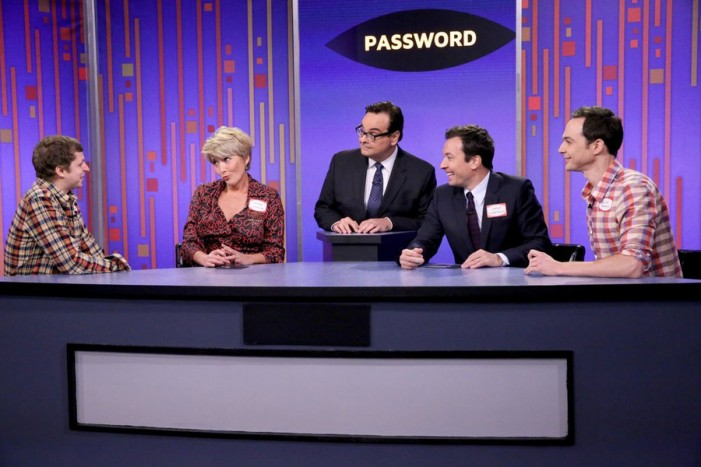 Jimmy Fallon Plays Password With Emma Thompson and Special Guests