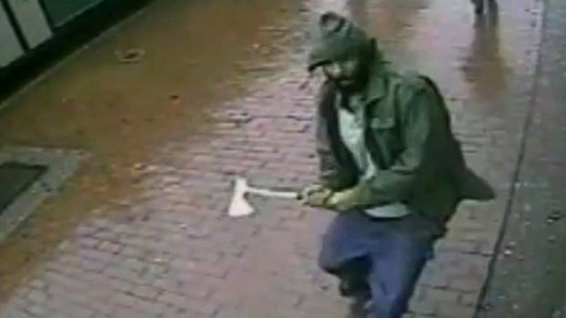 New York Police Officers Attacked by Man With Hatchet