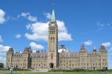 Canada's Parliament Hill on Lock Down