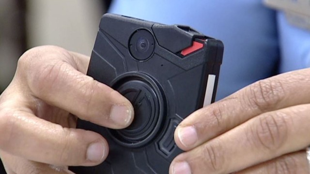 New Orleans Police wear body cameras