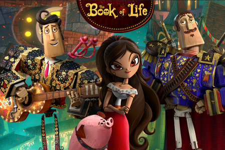 The Book of Life: Zoe Saldana and Ron Perlman Have Something For Everyone
