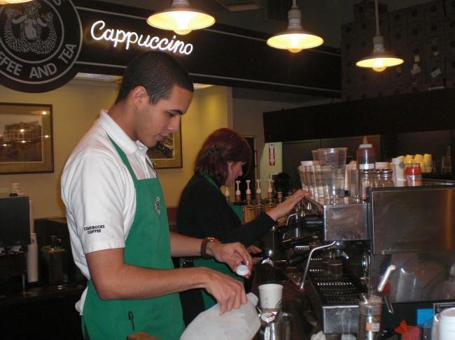 Starbucks employee handbook free movies