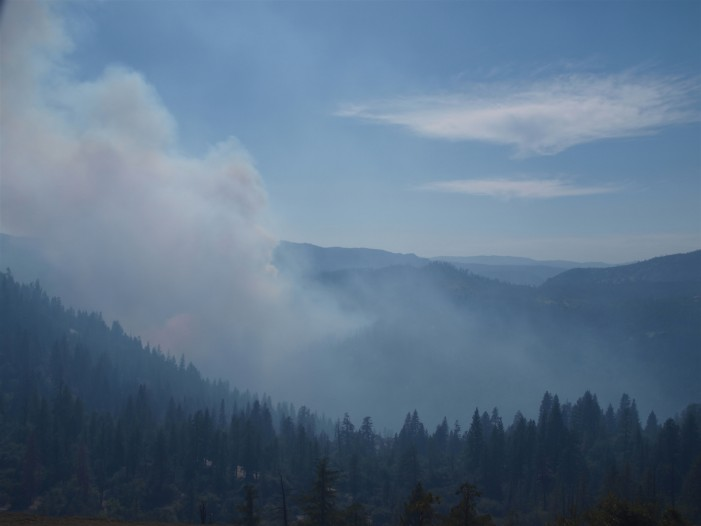 Yosemite Burning Again: Dog Rock Fire Pilot Killed and Forced Evacuations