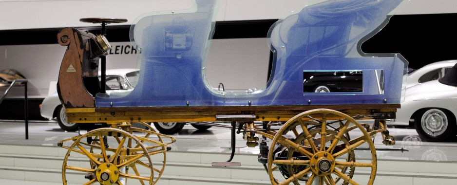 First Porsche Built in 1898 Found and Renovated by Museum