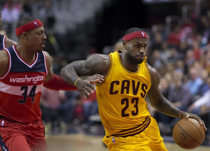 Cavaliers Learning to Play Through LeBron James