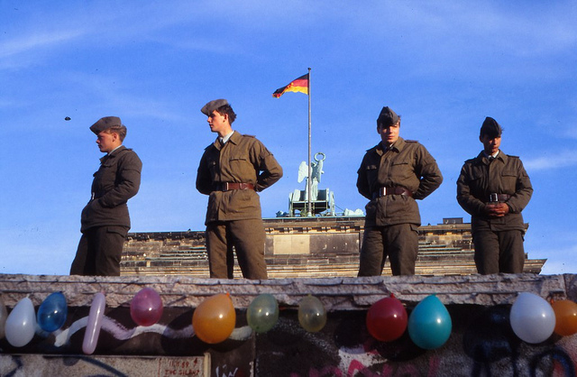 Germany Celebrates 25 Years Since the Fall of the Berlin Wall