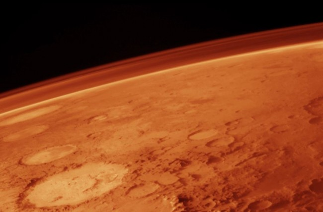 Atmosphere of Mars Was Altered by Cosmic Dust and Ice